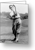 Professional Golfers Greeting Cards - Tom Armour wins US golf title - c 1927 Greeting Card by International  Images