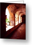David Greeting Cards - Tomb of King David Greeting Card by Thomas R Fletcher
