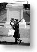 Ceremony Greeting Cards - Tomb of the Unknown Soldier Greeting Card by Inge Johnsson