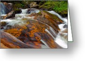 Brian Kerls Greeting Cards - Tonahutu Creek Greeting Card by Brian Kerls