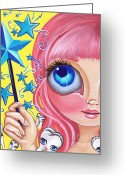 Jaz Greeting Cards - Tooth Fairy Greeting Card by Jaz Higgins