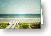 Tropical Island Greeting Cards - Topsail Perfection Greeting Card by Andrea Hazel Ihlefeld
