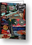 Vintage Signs Greeting Cards - Toronto Neon Greeting Card by Andrew Fare