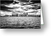 Td Greeting Cards - Toronto Skyline 3 Greeting Card by Frank Iusi