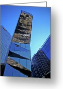 Arquitectura Greeting Cards - Torre Mare Nostrum - Torre Gas Natural Greeting Card by Juergen Weiss