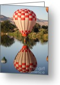 Touchdown Greeting Cards - Touchdown in Prosser Greeting Card by Carol Groenen