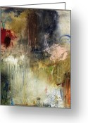 Abstracts Greeting Cards - Tough Act To Follow Greeting Card by Michel  Keck