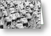 Tour De France Greeting Cards - Tour De France Greeting Card by McCabe