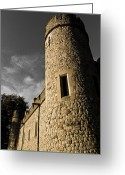 Medeival Greeting Cards - Tower Of london Greeting Card by David Pyatt