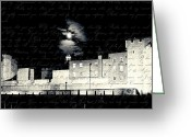Tower Of London Greeting Cards - Tower of London with Letter from Anne Boleyn Greeting Card by Heidi Hermes