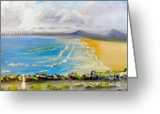 Pamela Meredith Greeting Cards - Towradgi Beach Greeting Card by Pamela  Meredith