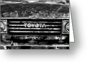 Huisken Greeting Cards - Toyota Truck Greeting Card by Lyle  Huisken