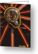 Steam Engine Greeting Cards - Traction Greeting Card by Meirion Matthias