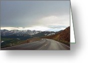 High Country Greeting Cards - Trail Ridge Road Greeting Card by Thomas Bomstad