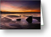 Seaview Greeting Cards - Tranquil Morning Greeting Card by Svetlana Sewell