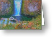2hivelys Art Greeting Cards - Tranquility Greeting Card by Methune Hively
