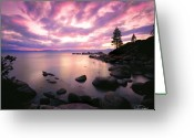 Reflections Greeting Cards - Tranquility  Greeting Card by Vance Fox