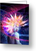 Philip Straub Greeting Cards - Transcendance Greeting Card by Philip Straub