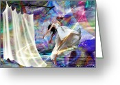 Holy Spirit Greeting Cards - Transformed Heart Greeting Card by Dolores DeVelde
