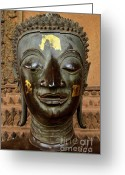Lao Greeting Cards - Transiency V Greeting Card by Dean Harte