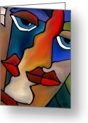 Abstract Music Greeting Cards - Transitions Greeting Card by Tom Fedro - Fidostudio