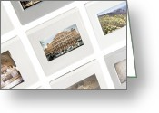 Reminiscing Greeting Cards - Transparencies On A Lightbox Greeting Card by Johnny Greig