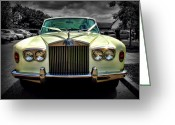 Wheels Greeting Cards - Travel in Style Greeting Card by Alex Hardie