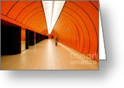 Munich Greeting Cards - Traveler Greeting Card by Syed Aqueel