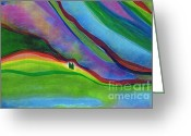 Foothill Greeting Cards - Travelers Foothills by jrr Greeting Card by First Star Art
