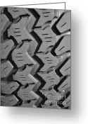 Four-wheel Greeting Cards - Tread Blox 1 Greeting Card by Luke Moore