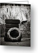 Concrete Greeting Cards - Tread Lightly Greeting Card by Jessica Brawley