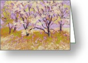 J Reifsnyder Greeting Cards - Trees1 Greeting Card by J Reifsnyder