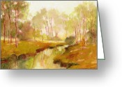 J Reifsnyder Greeting Cards - Trees5 Greeting Card by J Reifsnyder