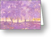 J Reifsnyder Greeting Cards - Trees6 Greeting Card by J Reifsnyder