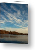 Central Jersey Greeting Cards - Trenton Hamilton Marsh1 Greeting Card by Steven Richman