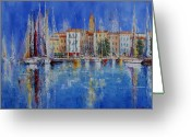  Originals Greeting Cards - Trogir  -  Croatia Greeting Card by Miroslav Stojkovic - Miro