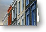 Camden Greeting Cards - Trois Couleurs Camden Greeting Card by Michael Reeve