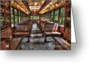 Trolley Greeting Cards - Trolly No. 948 Greeting Card by Susan Candelario