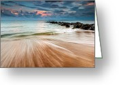 Quay Greeting Cards - Tropic Sky Greeting Card by Evgeni Dinev
