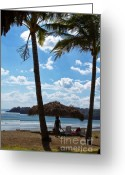 Playa Greeting Cards - Tropical Feeling Greeting Card by Heiko Koehrer-Wagner
