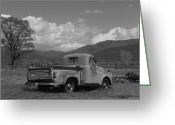 Adrienne Petterson Greeting Cards - Truck in Taos NM Greeting Card by Adrienne Petterson