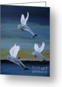 Ellenisworkshop Greeting Cards - True Angels Greeting Card by Eric Kempson