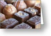 Confections Greeting Cards - Truffles Greeting Card by Kim Fearheiley