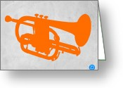 Boom Greeting Cards - Tuba  Greeting Card by Irina  March
