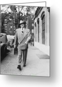 20-24 Years Greeting Cards - Tudor City Gent Greeting Card by Fpg