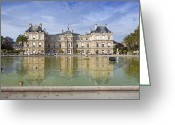 Tuileries Greeting Cards - Tuileries Greeting Card by Al Hurley