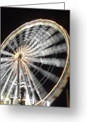 Tuileries Greeting Cards - Tuileries Paris Wheel Greeting Card by Mark Currier