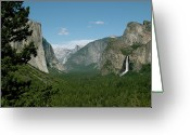 Tunnel View Greeting Cards - Tunnel View Greeting Card by Joshua Gyovai