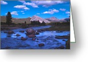 Tuolumne Greeting Cards - Tuolumne Meadows Greeting Card by Mark Wilburn
