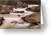 Tuolumne Greeting Cards - Tuolumne River Cascades Greeting Card by Don Smith